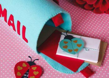 Поштова скринька із фетру своїми руками. Фото-інструкція