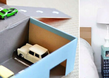 19 ідей корисного та естетичного використання коробок від взуття