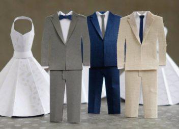 Весільний декор по-новому. Ідеї з паперу