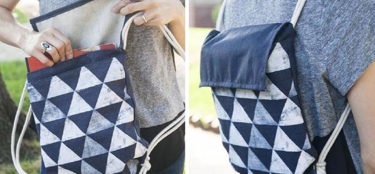 Як зробити рюкзак своїми руками. Майстер-клас з фото