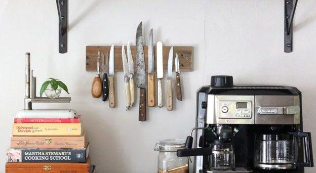 Магнітна планка для ножів із дерева. Покроково