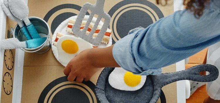 Дитяча кухня із войлока! Майстер-клас. Фото
