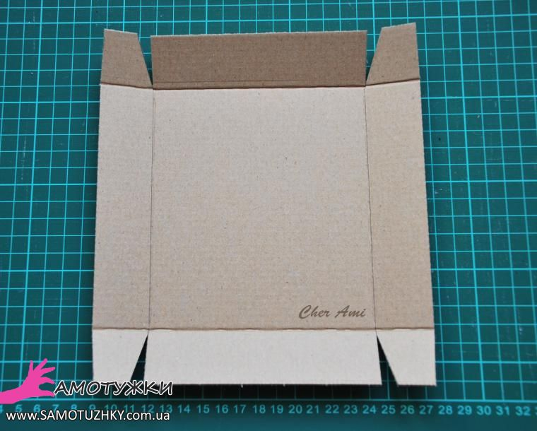 Коробочка своими руками из картона