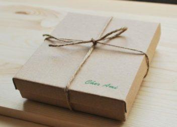 Подарункова коробка в еко-стилі власними руками. Майстер-клас