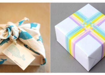 8 нестандартних способів загорнути подарунок