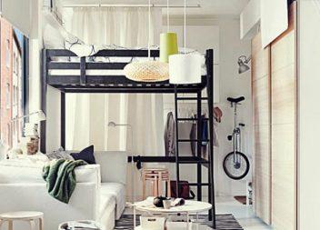 15 ідей для інтер'єру: як облаштувати крихітну спальню
