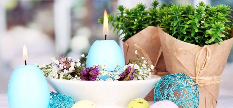 Великодні свічки у формі яєць. Майстер-клас