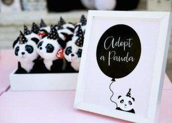 """Ідеї для вечірки в стилі """"панда"""". Фото"""