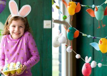 Великодні вироби із підручних матеріалів для дітей. 35 ідей