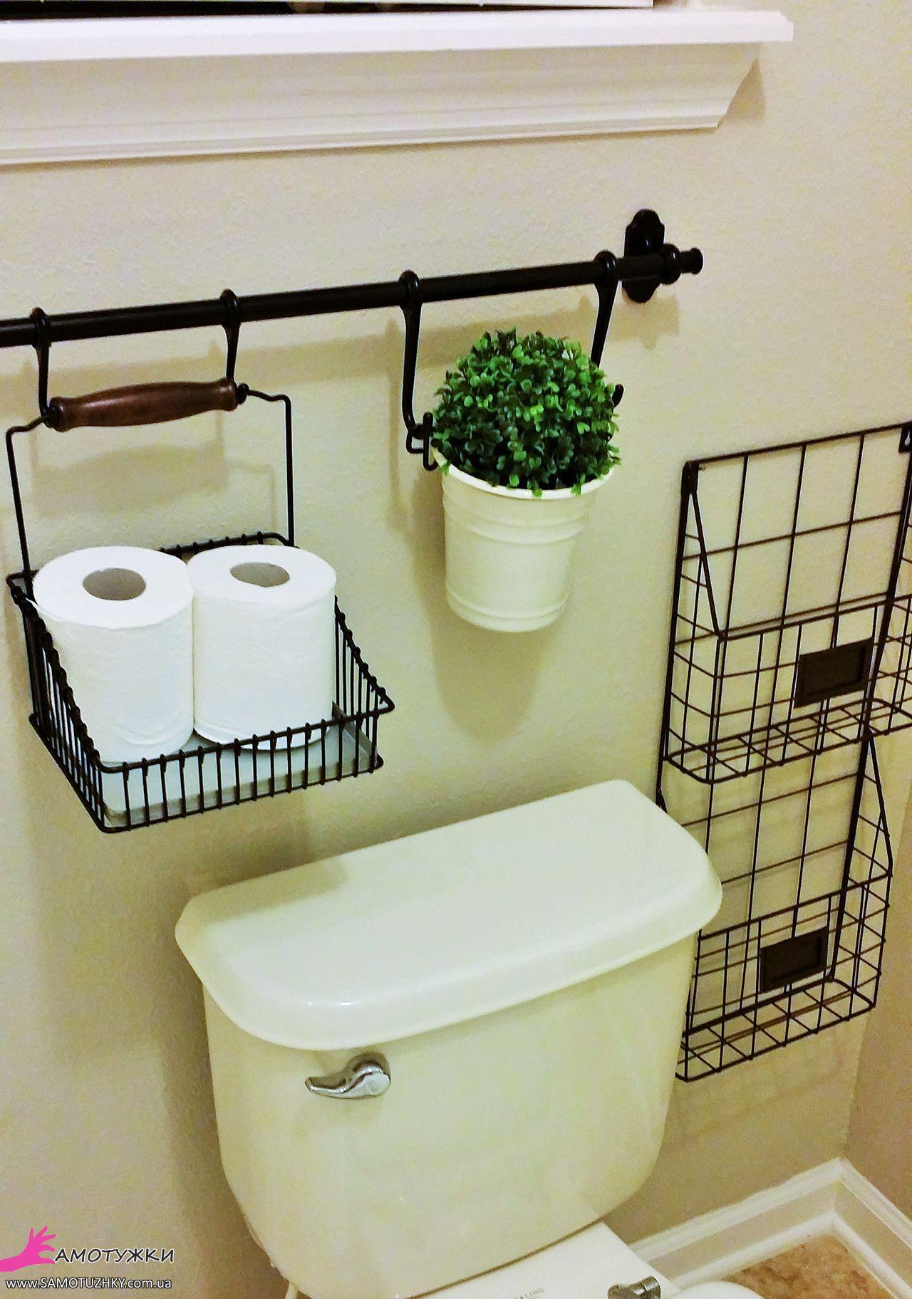 Дизайны полочек в туалет