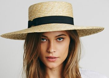Модні солом'яні капелюхи. 10 фото