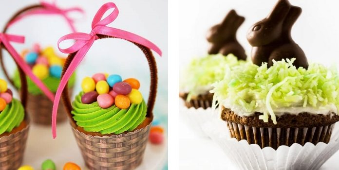 Готуємо кекси та капкейки до Великодня. 30 цікавих ідей