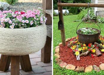 Оригінальна клумба та квітник. 40 ідей