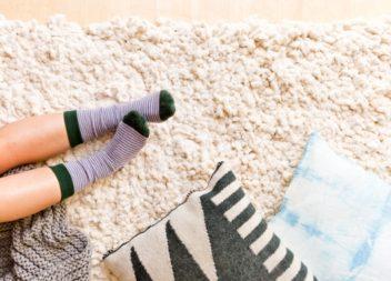 Недорогий та стильний килим своїми руками. Майстер-клас