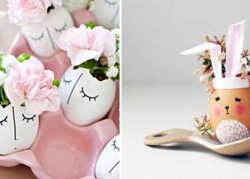 Квіти у яєчній шкарлупі. 25 ідей
