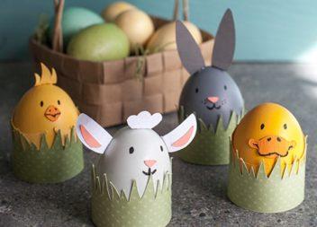 Ідеї до Пасхи: звірята із яєць