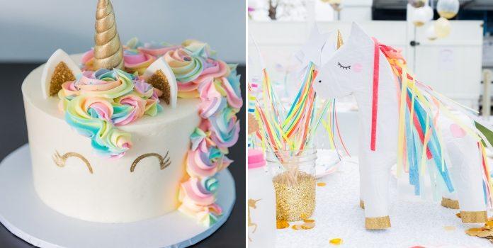 """Дитячий день народження у стилі """"Єдиноріг"""". Деталі та декор"""