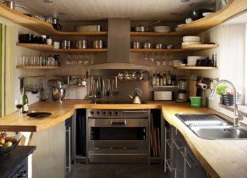 Інтер'єр маленької кухні. 35 ідей