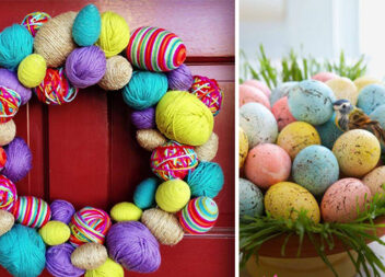50 способів прикрасити оселю та подвір'я до Великодня