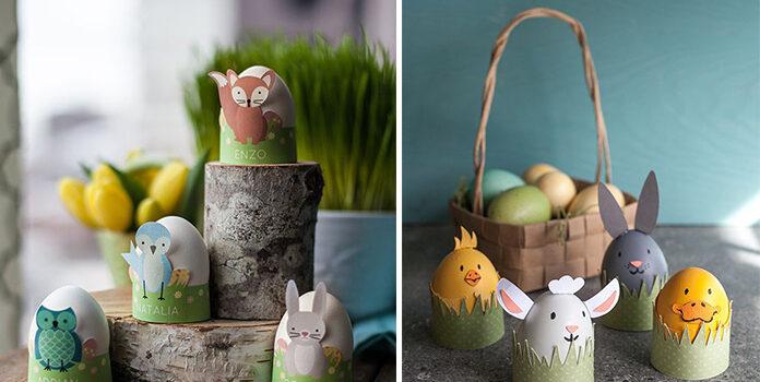 Ідеї до Великодня: звірята із яєць