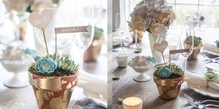 Ідея декорування святкового столу. Фото-урок
