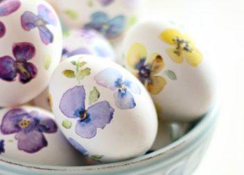 Прикрашаємо великодні яйця за допомогою паперу. 20 ідей