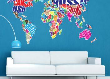 45 способів прикрасити стіни в помешканні