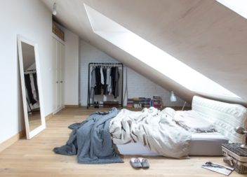 25 ідей мансардної кімнати