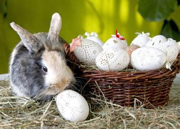 Великодні яйця та ажурна різьба. 15 ідей