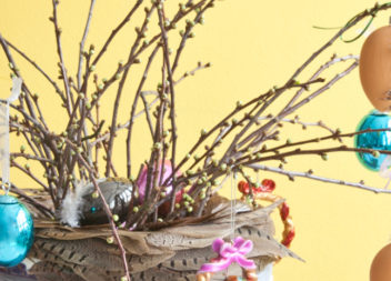 Декор до Вербної неділі власними руками. 25 найкращих композицій