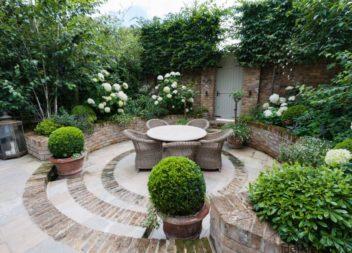 Ідеї для приватного будинку: затишне подвір'я та задній двір