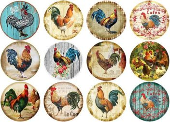 Декупажні карти для пасхального декору. 15 варіантів