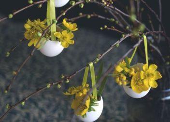 Декоруємо пасхальне деревце самотужки. 15 ідей та майстер-клас