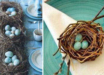 Ідеї пасхального декору: пташині гнізда. 25 ідей