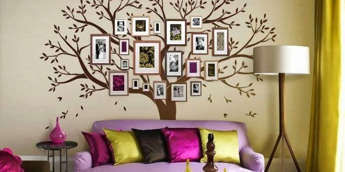 Сімейне дерево на стіні. 15 ідей для втілення