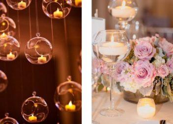 30 дивовижних способів використати свічки на весільній церемонії
