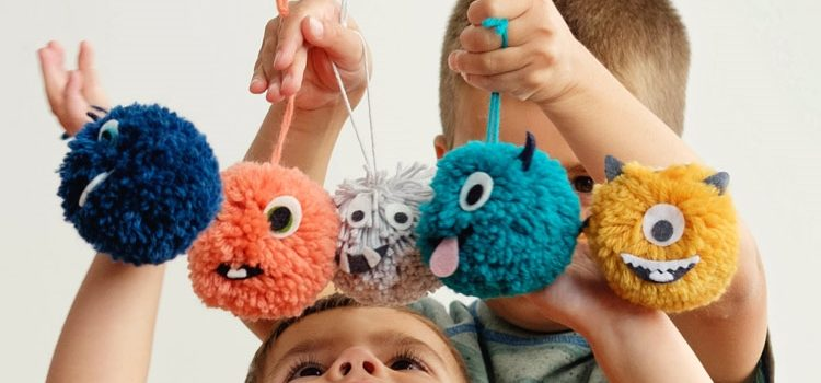 20 іграшок із помпонів, які легко зробити власними руками