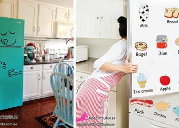 Декоруємо холодильник самотужки: 20 ідей втілених у життя