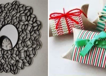 10 цікавих виробів із картонної основи від туалетного паперу