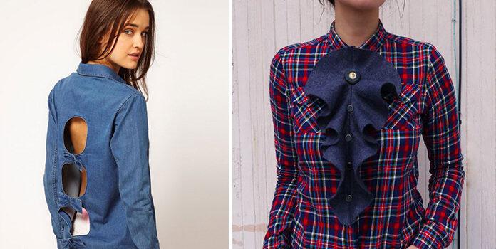 Декор сорочки своїми руками: 20 фото-ідей