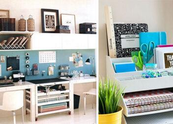 Домашній офіс: організація та зберігання