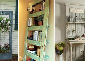 28 способів подарувати нове життя старим дверям