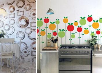 Декор кухонних стін своїми руками: 20 ідей