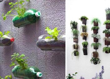Вертикальні сади своїми руками. 20 ідей