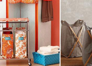 Зручні та естетичні кошики для білизни