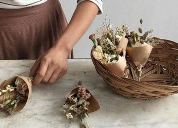 Як використати висушені квіти: 24 ідеї