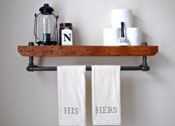 Стильний індустріальний декор із сантехнічних матеріалів. 20 ідей