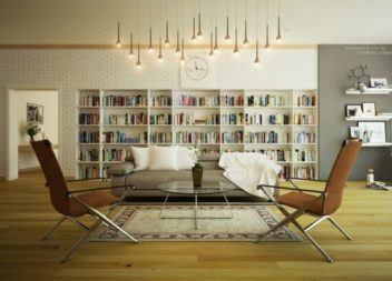 Оформлення домашньої бібліотеки, 27 фото-ідей