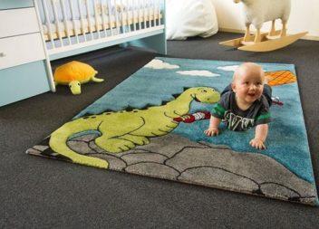 Килим для дитячої кімнати: ідеї та приклади в інтер'єрі