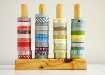 25 способів створити яскравий декор за допомогою клеючої стрічки